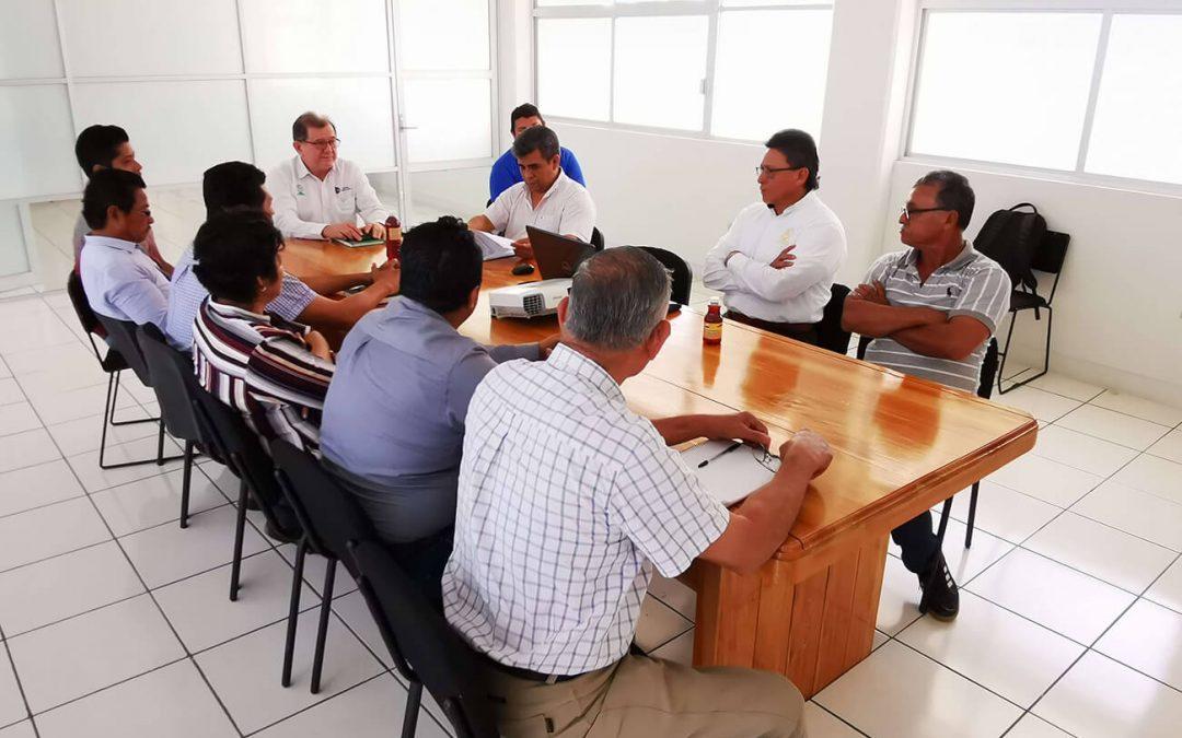Visita del Director de Desarrollo del Ayuntamiento de Comalcalco, Ex-alumno de esta Casa de Estudios.