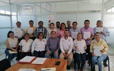 EN BUSCA DE LA EXCELENCIA ACADÉMICA, 13 DOCENTES DEL TECNM CAMPUS ZONA OLMECA, SE CERTIFICARON EN LA NORMA CONOCER EC0049