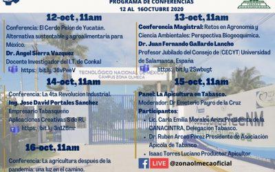 ACTIVIDADES DE LA SEMANA DEL XXXVIII ANIVERSARIO DEL TECNM CAMPUS ZONA OLMECA.