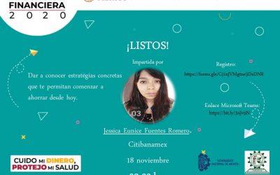 """CONFERENCIA """"¡LISTOS!"""" EN EL MARCO DE LA SEMANA NACIONAL DE EDUCACIÓN FINANCIERA."""
