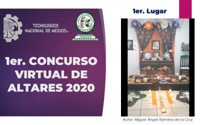 1ER. CONCURSO VIRTUAL DE ALTARES DE MUERTOS