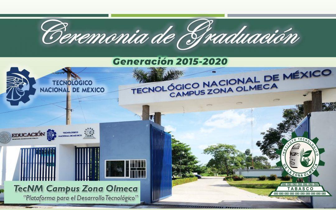 CEREMONIA VIRTUAL DE GRADUACIÓN DE LA GENERACION XXXV Y TITULACIÓN INTEGRAL 2020