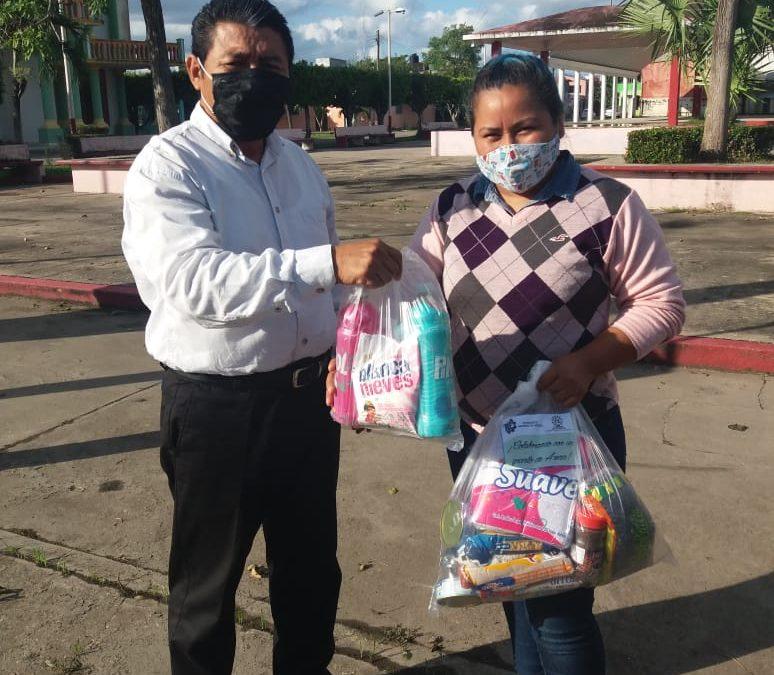 "PARTICIPA TECNOLÓGICO NACIONAL DE MÉXICO CAMPUS ZONA OLMECA COMO ""CENTRO DE ACOPIO"""