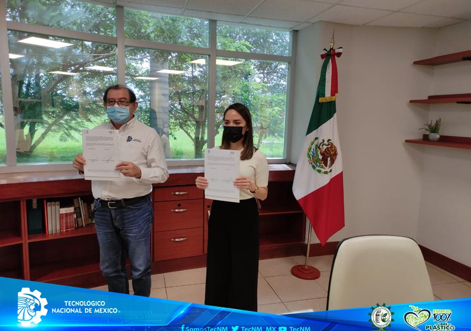 TECNM CAMPUS ZONA OLMECA Y UNIVERSIDAD POLITECNICA DEL CENTRO FIRMAN CONVENIO MARCO DE COLABORACION ACADÉMICA, CIENTÍFICA Y TECNOLÓGICA.