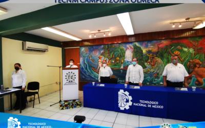 EL TECNM CAMPUS ZONA OLMECA, REALIZA SU CEREMONIA DEL XXXIX ANIVERSARIO DE SU FUNDACIÓN.